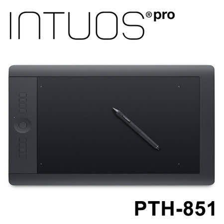 WACOM Intuos Pro 專業繪圖板 Large (PTH-851/K1-CX)