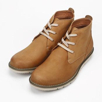 (男) RED ANT 半高筒休閒靴 棕 紅螞蟻 鞋全家福