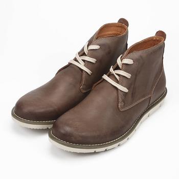 (男) RED ANT 半高筒休閒靴 咖啡 紅螞蟻 鞋全家福