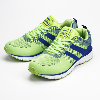 (男) COMBAT 織面運動鞋 綠 鞋全家福