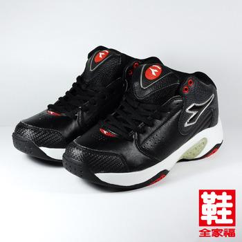 (男) DIADORA 7350 籃球鞋 黑紅 迪亞多那 鞋全家福
