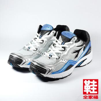 (男) DIADORA 7366 慢跑鞋 灰藍 迪亞多那 鞋全家福