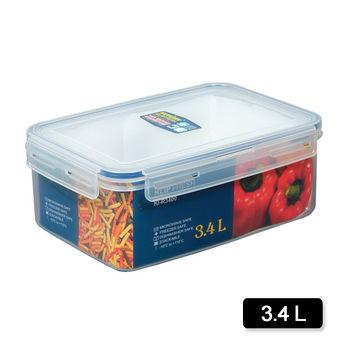 天廚長型保鮮盒3.4L