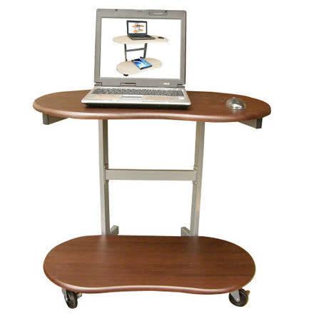 環球-【耐重型】雙層-活動式電腦桌【三色供選擇】