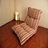 現代風華條紋充棉大和室椅