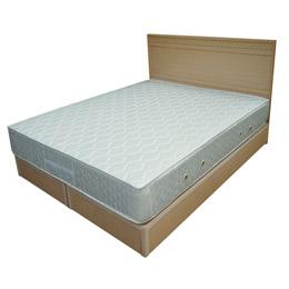 【破天荒首賣破盤價】超值國民床組-雙人5尺白橡木(不含床墊)