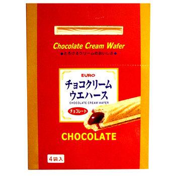 EURO巧克力威化棒100g