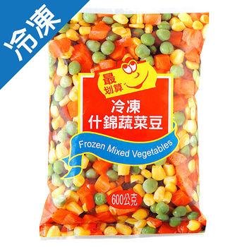最划算冷凍什錦蔬菜豆600g