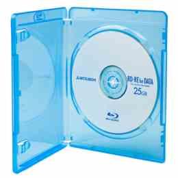 DigiStone 藍光DVD Logo燙銀單片精裝軟盒 100片
