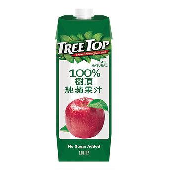 樹頂TreeTop100%蘋果汁1000ml