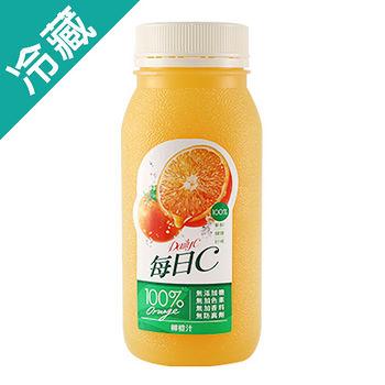 每日C100%柳橙原汁220ml