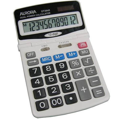 AURORA桌上型 12位數計算機DT3945