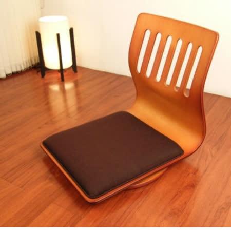 和風曲木旋轉和室椅 2入