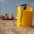 英國OverBoard 防水運動筒型背包20L,防水等級Class3,專利捲封系統可靠方便
