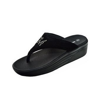 METAFIT時尚健康鞋~涼鞋系列-S15-質感黑