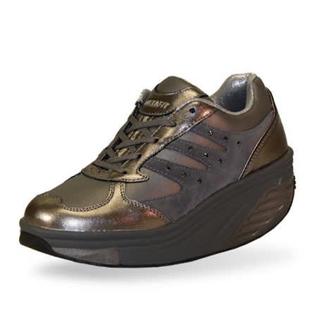 (零碼出清)METAFIT 時尚健康鞋-全皮系列(第一代)-21-氣質灰size8
