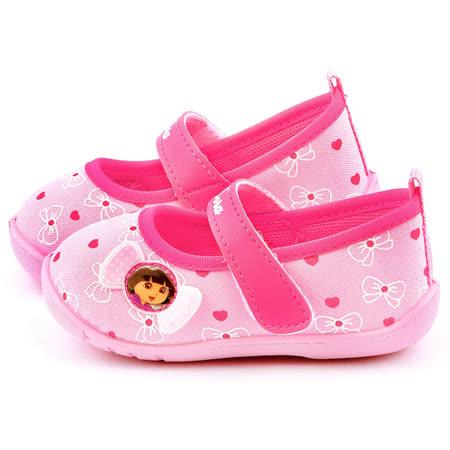童鞋城堡-朵拉 小童 蝴蝶結學步鞋DR87017-粉
