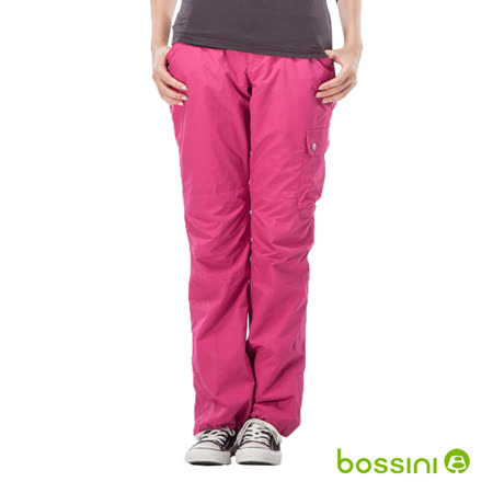bossini女裝-多功能防風雪褲02亮桃紅(品特)