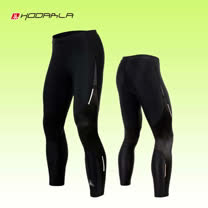 (男女) HODARLA 動力壓縮緊身長褲-緊身褲 束褲 內搭褲 台灣製 黑