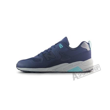 (男)NEW BALANCE 復古鞋 深藍-MRT580TN