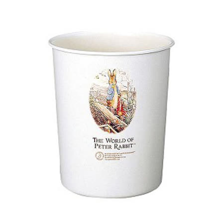日本品牌【ASVEL】彼得兔圓形垃圾桶-M