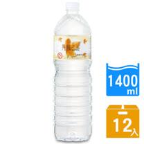 【DRINK WATER丹楓之水】麥飯石礦泉水1400ml(12瓶/箱)