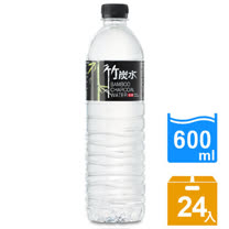 【奇寶】竹炭水600ml(24瓶/箱)