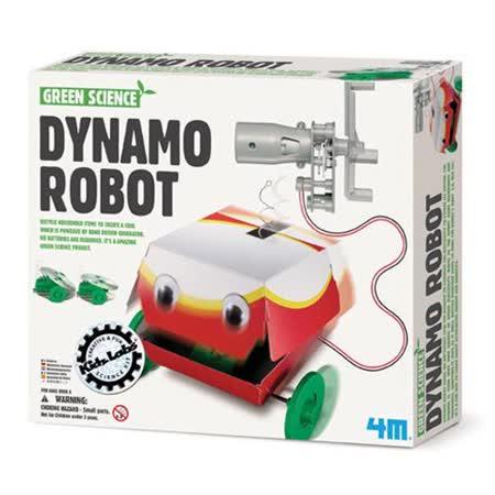 《4M科學探索》大嘴巴機器人 Dynamo Robot