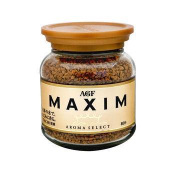 日本AGF MAXIM箴言咖啡罐80g