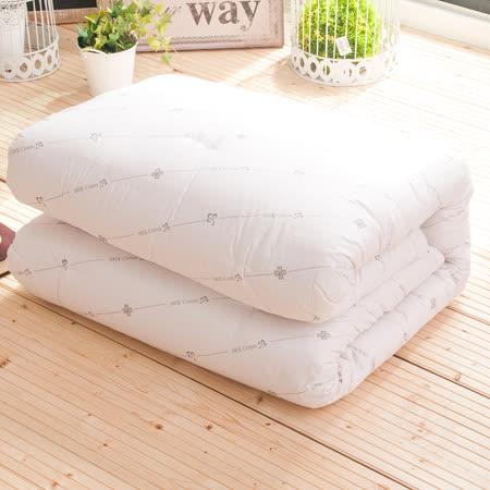 OLIVIA  標準雙人6X7尺 百分百純棉老師傅手工棉被 台灣精製