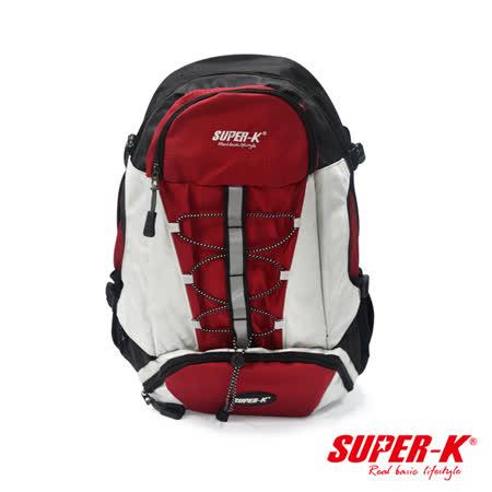 美國品牌【SUPER-K】休閒戶外手提後背兩用包