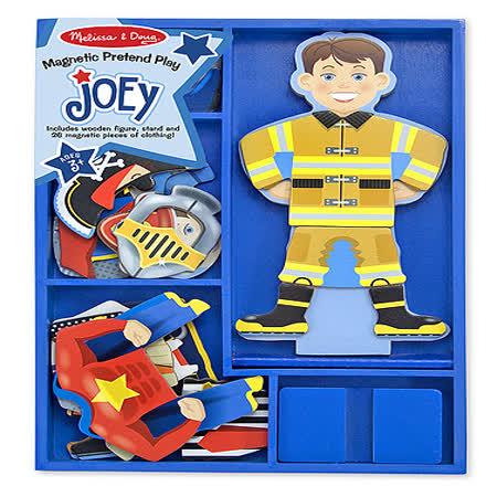【美國 Melissa & Doug】木磁紙娃娃 - 職業英雄 MD3550