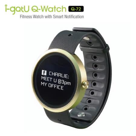 i-gotU 藍牙防水智慧手錶 Q72