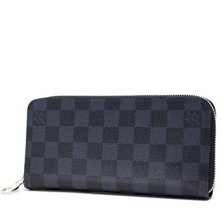 Louis Vuitton LV N62240 Zippy 黑棋盤格紋多功能拉鍊長夾_預購