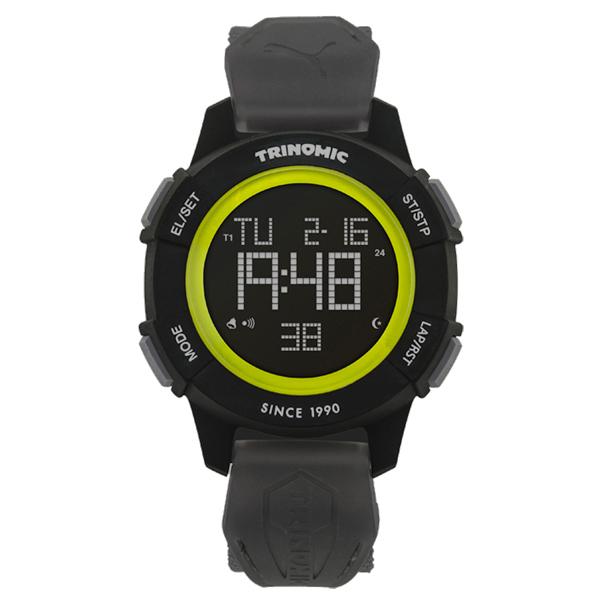 PUMA TRINOMIC復古聯名款 腕錶~灰黑