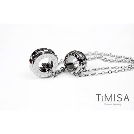 【TiMISA】幸福御守 純鈦情人對鍊