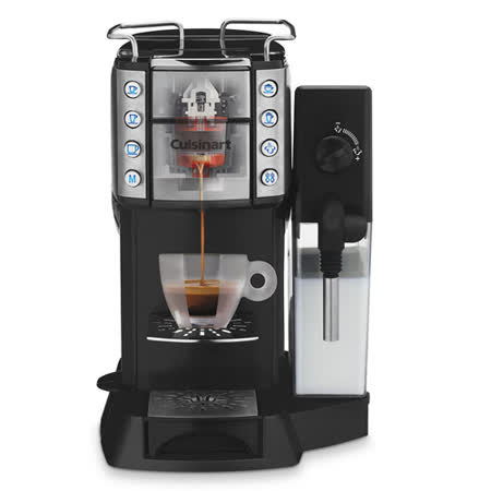【美膳雅Cuisinart】Espresso 頂級膠囊咖啡機 EM-600TWBK