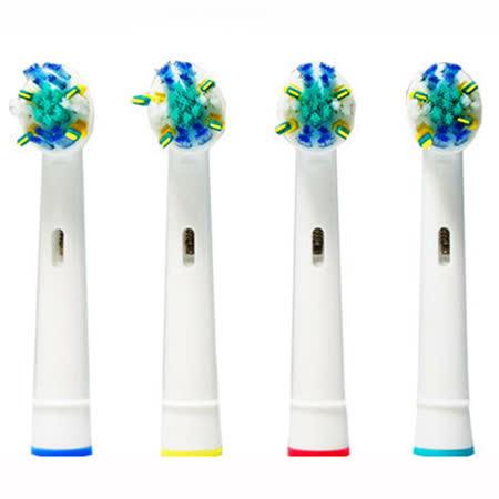 副廠-1卡4入IC智控潔板牙刷頭EB25 (相容歐樂B電動牙刷)