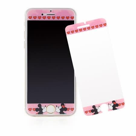 Disney iPhone 6/6s 彩繪保護貼-LOVE