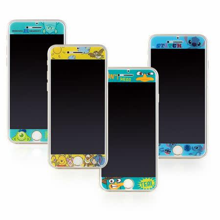 Disney iPhone 6/6s 彩繪保護貼-可愛系列