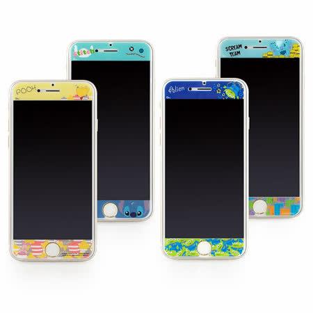 Disney iPhone 6/6s 彩繪保護貼-俏皮系列