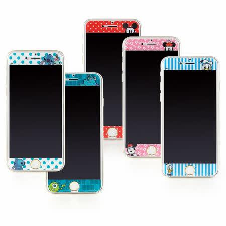 Disney iPhone 6/6s 彩繪保護貼-哈囉系列