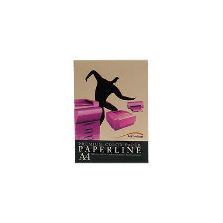【PAPERLINE】150/80P/A4 淺橘 進口影印紙 /彩色影印紙  (500張/包)