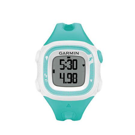 Garmin Forerunner 15 三合一運動健身跑錶 白綠色-小(女錶)