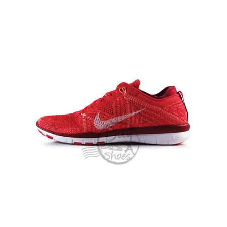 (女)NIKE WMNS NIKE FREE TR FLYKNIT 慢跑鞋 亮紅/白-718785601
