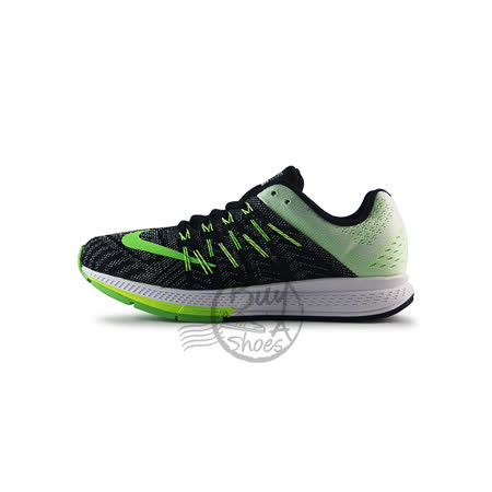 (女)NIKE WMNS NIKE AIR ZOOM ELITE 8 慢跑鞋 黑/綠-748589013