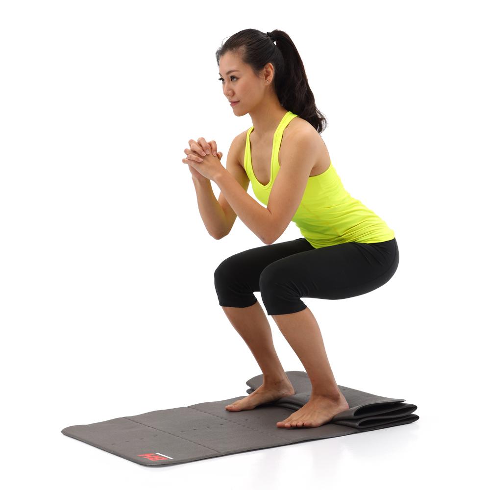【BH】摺疊運動訓台中 大 遠 白練墊
