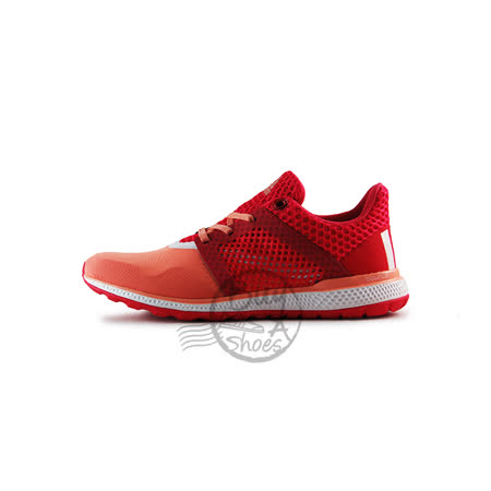 (女)ADIDAS ENERGY BOUNCE 2 W 慢跑鞋 粉紅/橘-AQ3159
