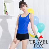 【夏之戀TRAVEL FOX】熱賣款長版兩件式泳衣(C15709)