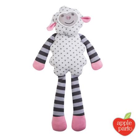 美國 Apple Park - 農場好朋友系列 有機棉安撫玩偶 - 小羊夢夢